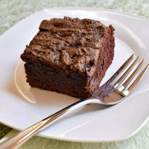 Gluten-Free Chocolate Cake Pan Cake