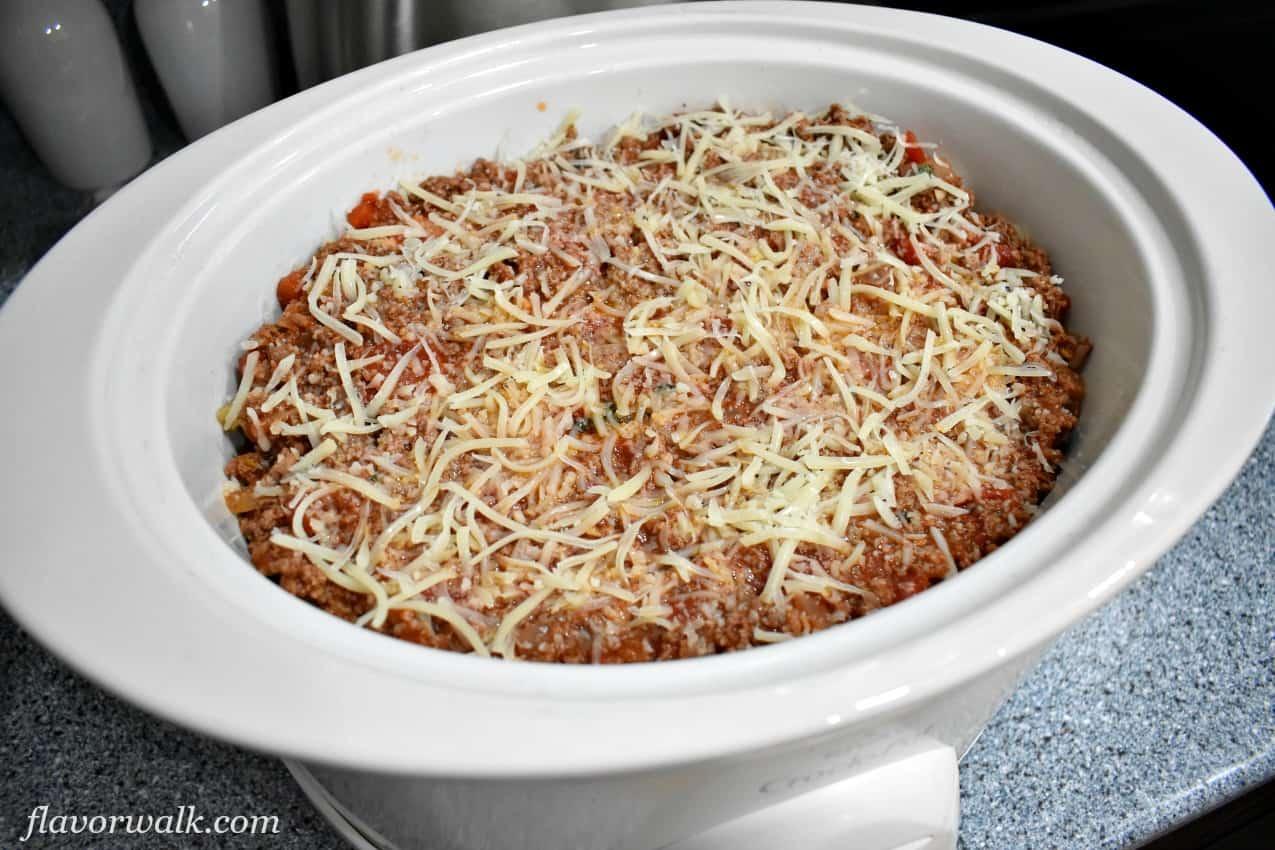 Easy Gluten Free Slow Cooker Lasagna, Slow Cooker Lasagna, Gluten Free Lasagna