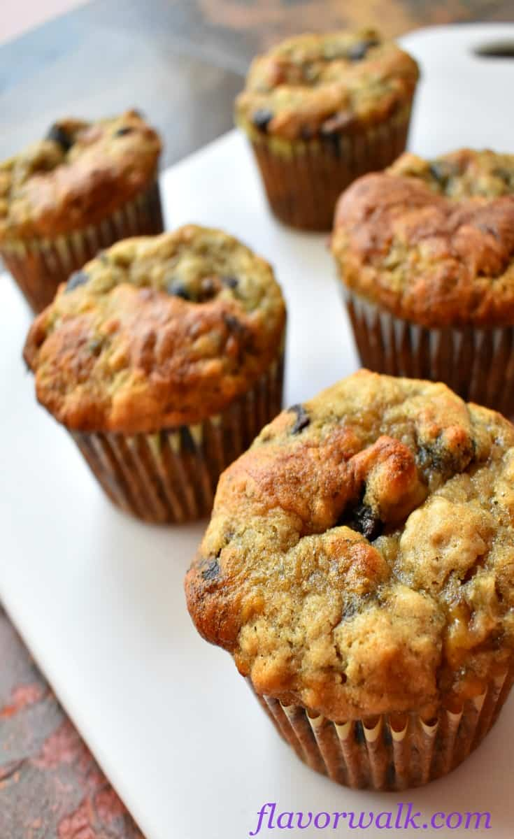 Gluten Free Chocolate Chip Banana Muffins, chocolate chip muffins, banana muffins, glutten free muffins
