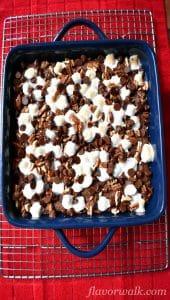 rocky road gluten-free brownies, rocky road brownies, brownies