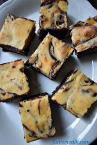 Cheesecake Brownies are extra rich and decadent! The perfect blend of cream cheese and chocolate. No one will guess they're gluten free!!