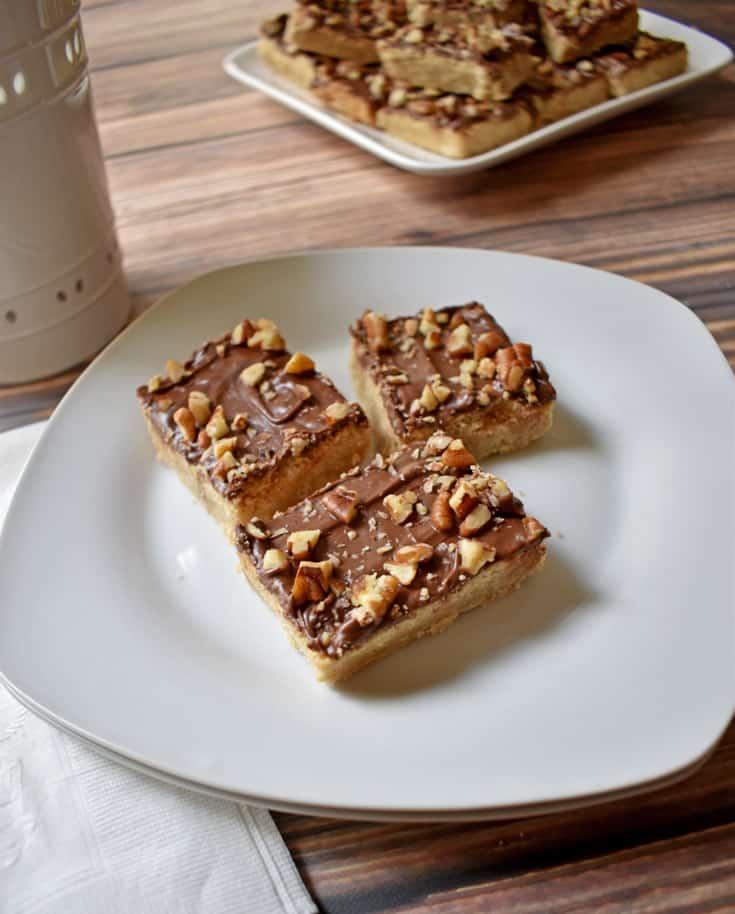 Gluten Free Chocolate Toffee Bars