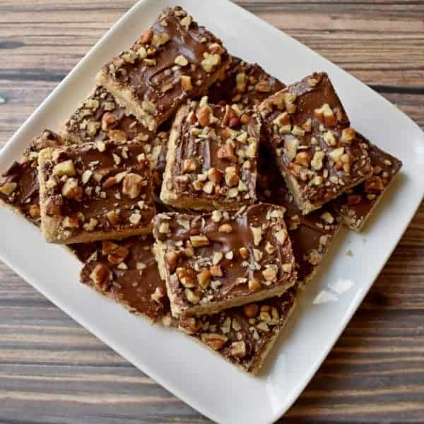 Gluten Free Chocolate Toffee Bars Recipe