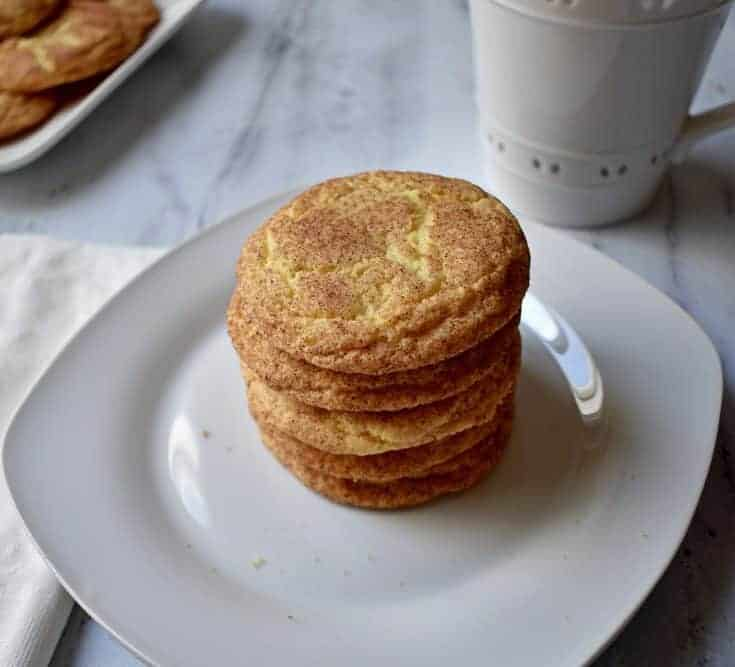 Old-Fashioned Snickerdoodle Cookies {Gluten Free}