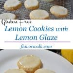 Lemon Cookies with Lemon Glaze are light, lemony, and bursting with flavor! The lemon zest & glaze gives these cookies a perfect balance of sweet and tart!!