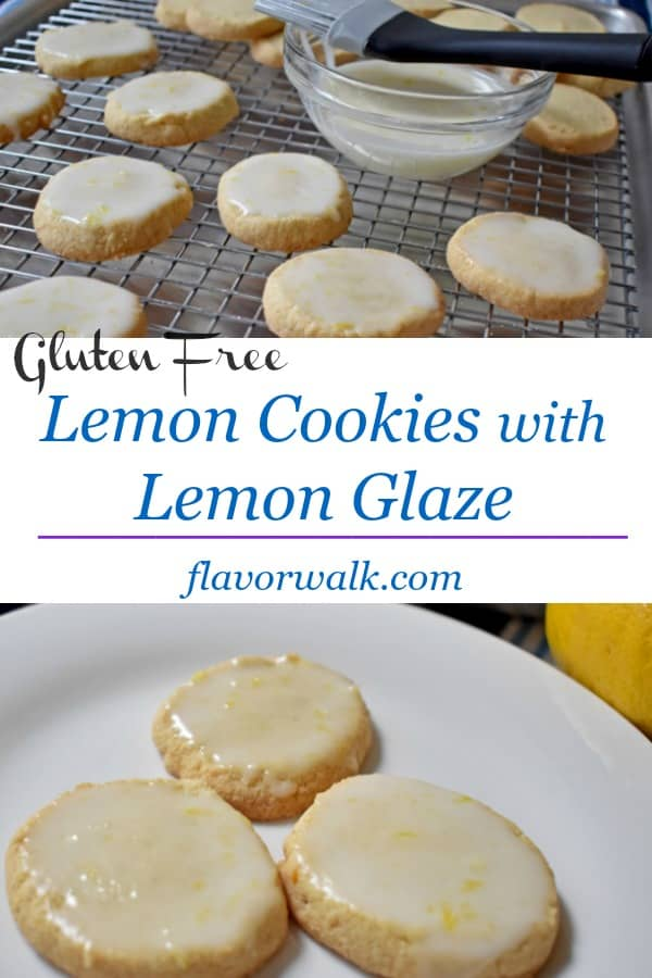 Lemon Cookies with Lemon Glaze are light, lemony, and bursting with flavor! The fresh lemon zest and glaze gives these cookies a perfect balance of sweet and tart!!