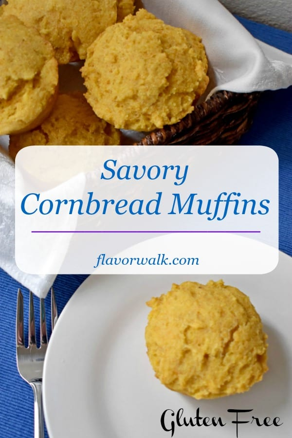 Savory Gluten Free Cornbread Muffins, filled with robust corn meal flavor, make a hearty side dish for your favorite chili, soup, or stew. These sturdy corn muffins are perfect for soaking up all the tasty goodness of your main dish.