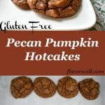 Pecan Pumpkin Hotcakes are tasty, filling, and best of all gluten free! They're the perfect start to any morning. | Flavor Walk