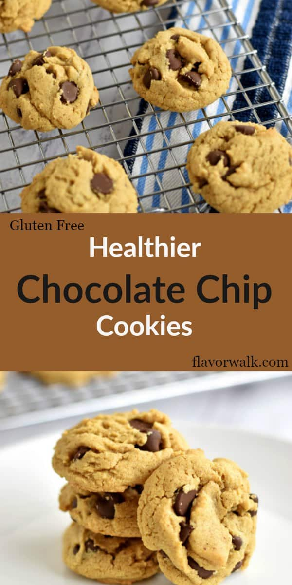 These chocolate chip almond butter cookies are made healthier with quinoa flour. The crispy edges and chewy middle make them a perfect cookie combination!